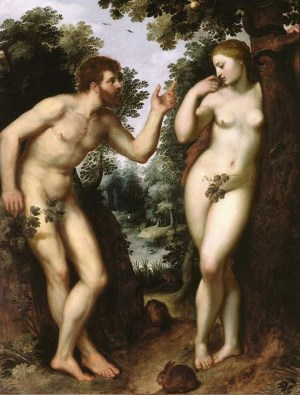 Adam and Eve Fig Leaf