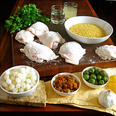 braised chicken thighs ingredients