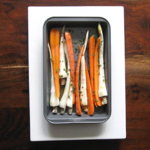 carrots and parsnips for roasting