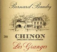 Domaine Bernard Baudry Chinon les Granges
