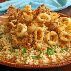 Couscous with Calamari