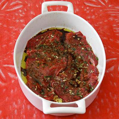 marinating skirt steak