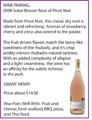 Click for more on Sokol Blosser Rosé