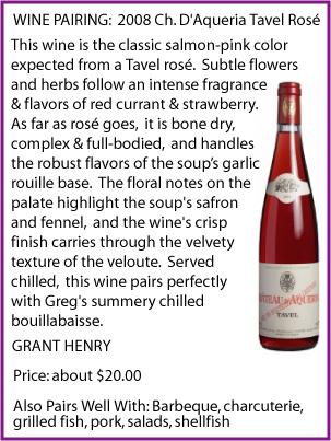 Click For More On Ch. D'Aqueria Tavel Rosé