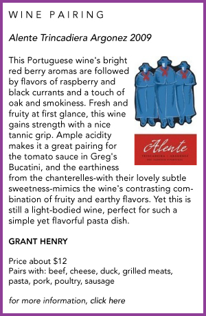 wine pairing bt Grant Henry