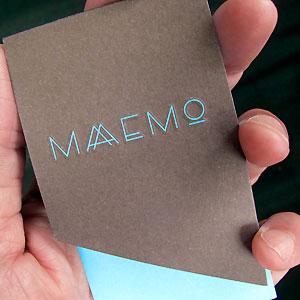 Maaemo Card, Oslo Norway