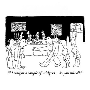 new yorker party cartoon