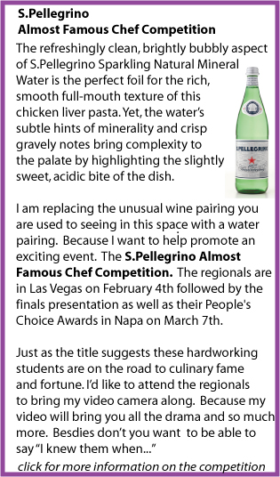 S.Pellegrino almost Famous Competition