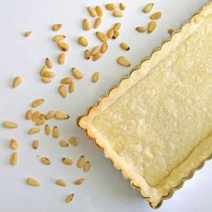 pine nut tart shell