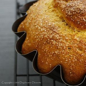 pumpkin pie brioche