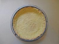baked cornmeal crust