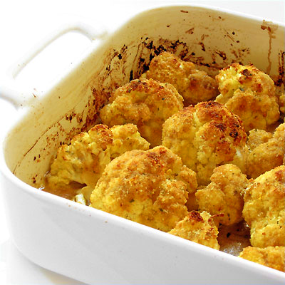 roasted cauliflower from Sippity Sup