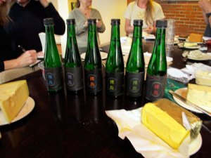 sake tasting in Bergen with Sippity Sup