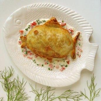 salmon loaf en croute
