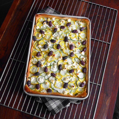 Sippity Sup's Summer Squash Tart