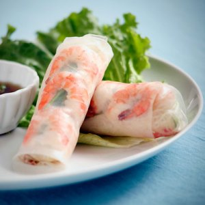 spring rolls from Sippity Sup