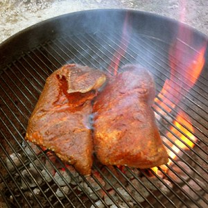 tri-tip on the grill