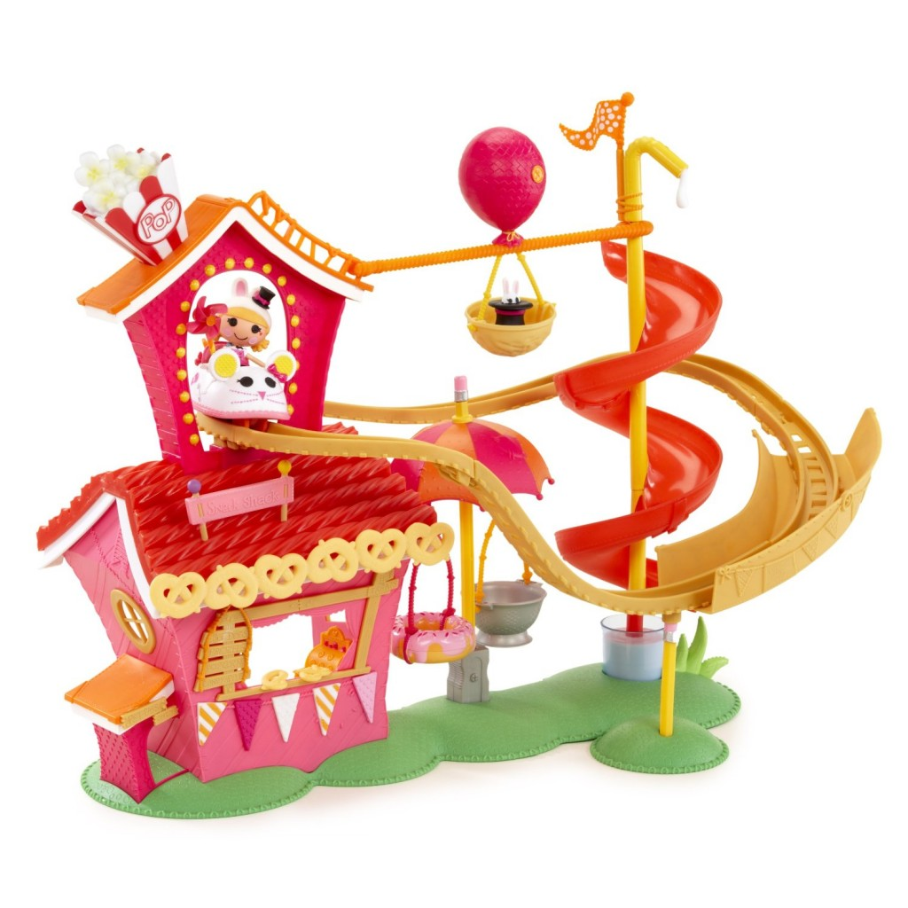 giveaway mini lalaloopsy silly fun house playset with misty