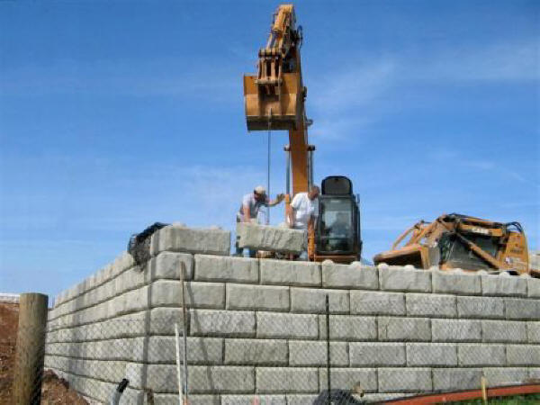 Redi Rock Retaining Wall Systems Archives SI Precast