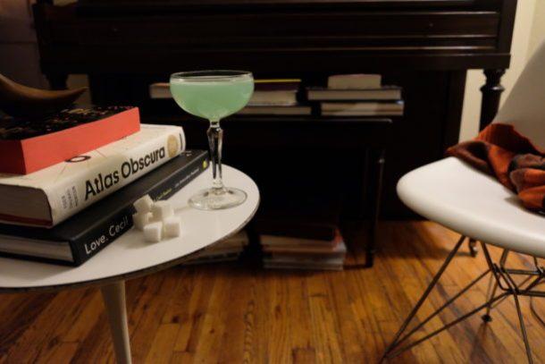 Absinthe Sour Cocktail