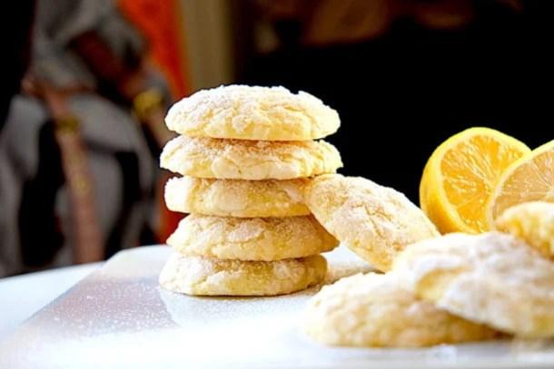 Lemon Mascarpone Cookies