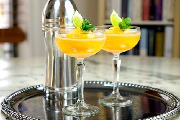 Mango Sorbet Margarita