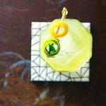 Tequila absinthe sour