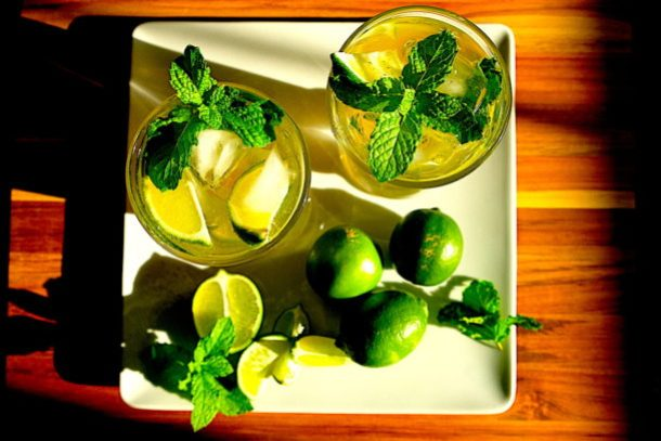 Ginger Lime Mojito
