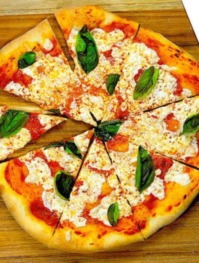 Homemade Pizza Dough & Sauce