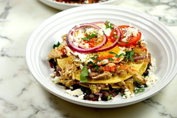 Stacked Breakfast Enchiladas