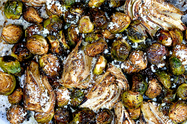 Brussels Sprouts and Fennel
