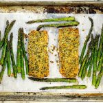 Dijon Panko Crusted Salmon