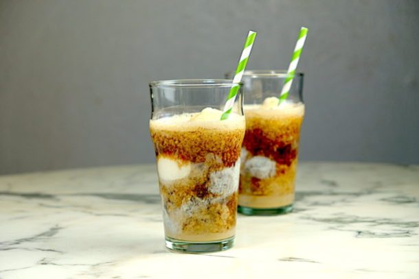 Guinness and Baileys Ice Cream Float