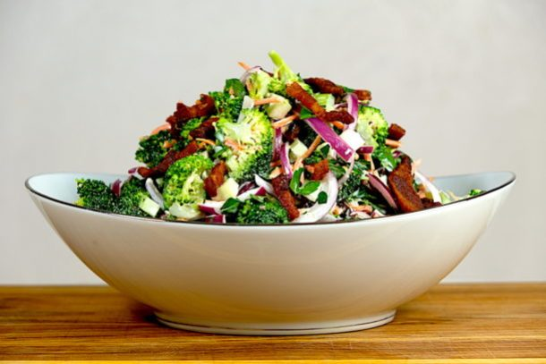 Crispy Bacon Broccoli Salad