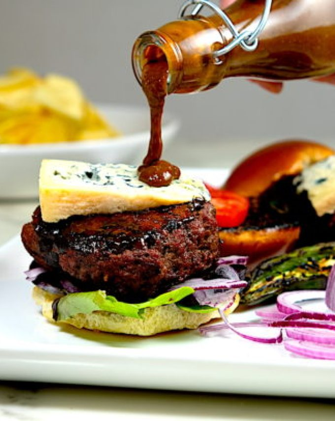 Bourbon-Balsamic-Bison-Burger