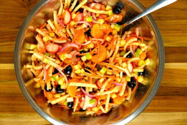 Orange Jicama Salad