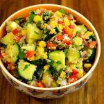 Cucumber Quinoa Summer Salad