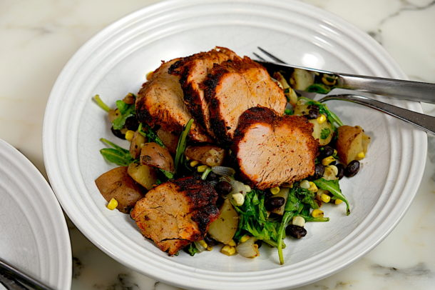 Chili Rubbed Pork Tenderloin