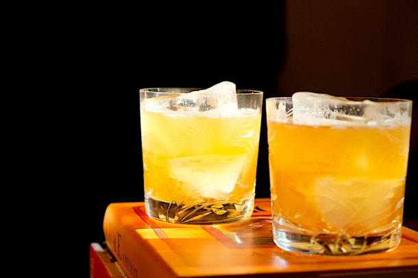The Godfather Amaretto and Scotch Whisky