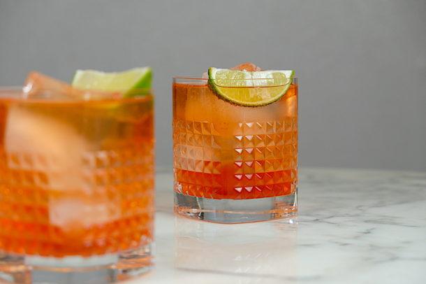 Pink Tequila Spritzer