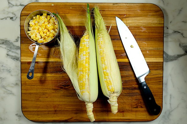 Corn Chowder Ingredietns