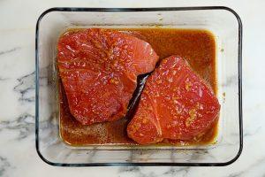 Ginger Sesame Tuna Steak