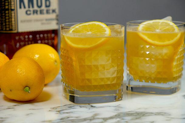 Meyer Lemon Whiskey Sour