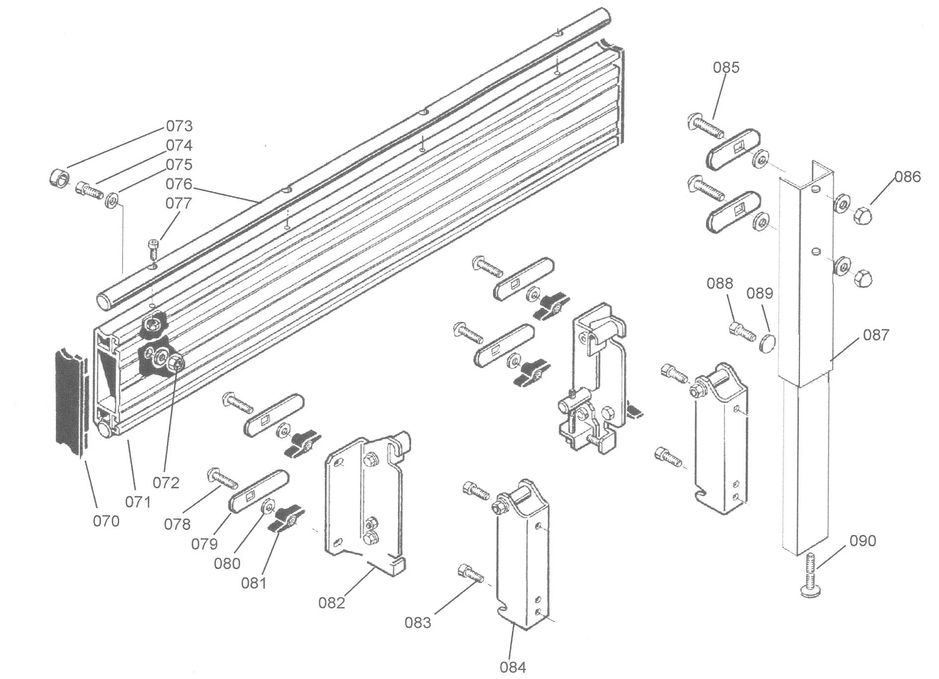 Sip Sliding Carriage For Table Saw Diagram B