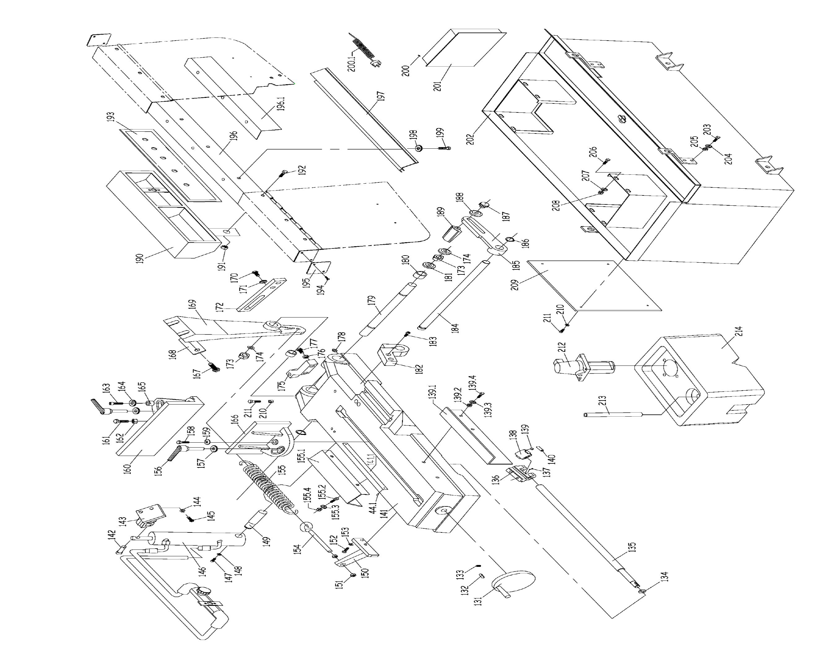 Sip 18 Metal Cutting Bandsaw Diagram