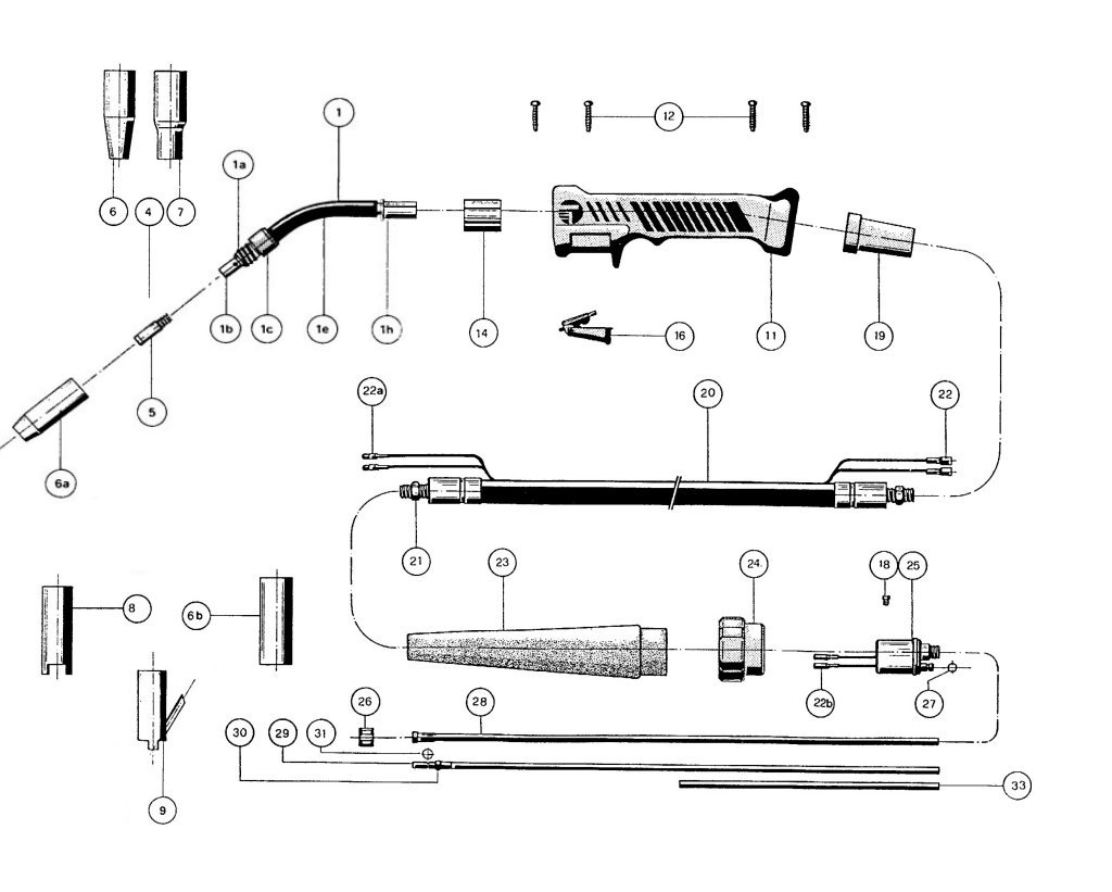 Welding Table Diagram