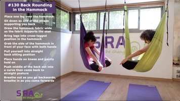 Back Rounding in the Hammock – exercise #130