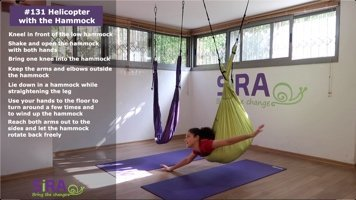 Helicopter with the Hammock – exercise #131
