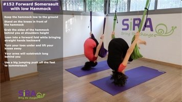 Forward Somersault with low Hammock – exercise #152