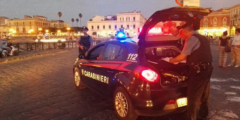 Siracusa, serrati controlli dei Carabinieri in Ortigia: arrestato un 23enne  per spaccio   Siracusa Times